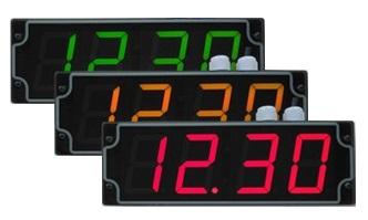 Průmyslové digitální hodiny- měření doby taktu